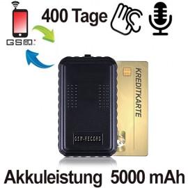 GSM SPY-Recorder, Voice Activated für perfekte Langzeit-Audioüberwachung-Aufzeichnung.