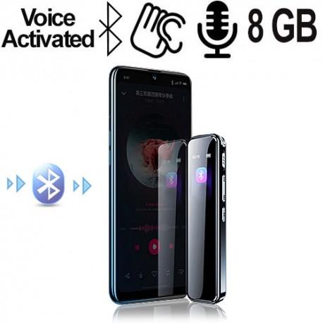 Drahtlos aus Distanz Handygespräche mitschneiden.Voice activated, unterstützt Line-In-Aufnahmen.