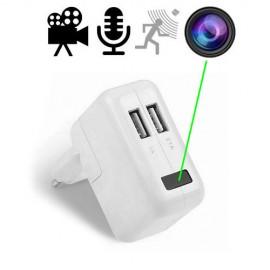 HD SpyCam im Mini-USB-Netzteil