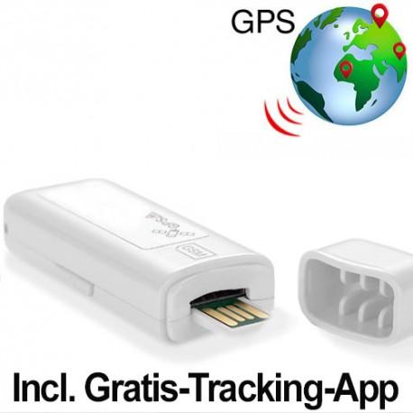USB Mini GPS-Tracker/Logger: Echtzeit-Tracking und Routen-Nachverfolgung, weltweit.