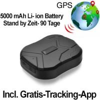 POWER Magnet GPS-Car-Tracker, Peilsender: Überwachung und lokalisierung für Auto, Motorrad, Mietfahrzeuge etc.