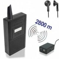 Für professionelle Audio-Überwachungsaufgaben-für Reichweiten bis zu 2800 mtr. bei guten Bedingungen.