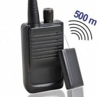 Funk-Abhörsender komplett mit passendem Empfänger-für Reichweiten bis zu 500 mtr. bei guten Bedingungen.