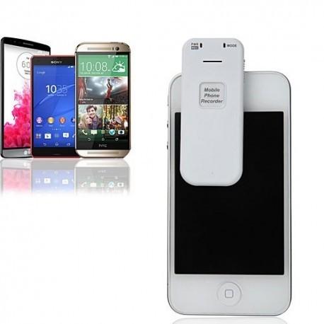 Smartphone-Gespräch schnell und einfach aufzeichnen-bis 20 Std. Aufzeichnung.