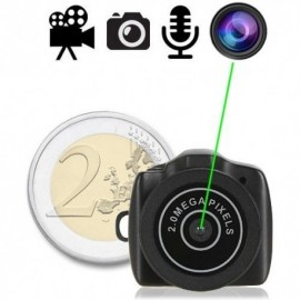 Micro Design & Full-HD- Micro Spy Kamera ( Bild-, Ton-, Video- Aufnahme), 32 Gb