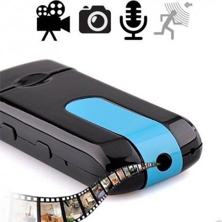 HD SpyCam im USB-Stick, bis 32GB, Farb-Video-, Audio-, Ton Aufnahme in HD-Qualität.
