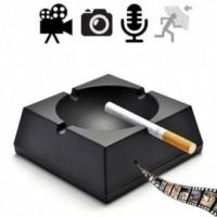 Spy-Minikamera getarnt im Aschenbecher, brilliante Video- Bild und Tonaufzeichnungen, unterstützt Bewegungserkennung.