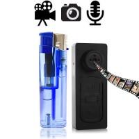 Hochauflösende getarnte digitale Spion Kamera im Knopfloch