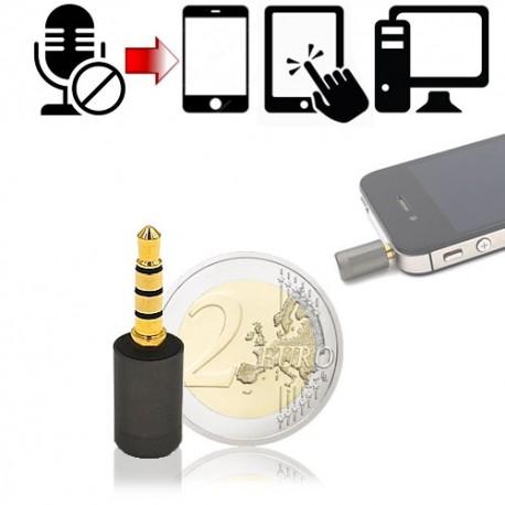 MIC-JAM, Microfon Blocker schützt Sie vor heimlichen Audio-Lauschangriffen in Ihrer Umgebung mit Spyware.