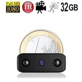 HD Ultra-MICRO SpyCam mit DVR. HD-Qualität mit 1920 x 1080 Pixel