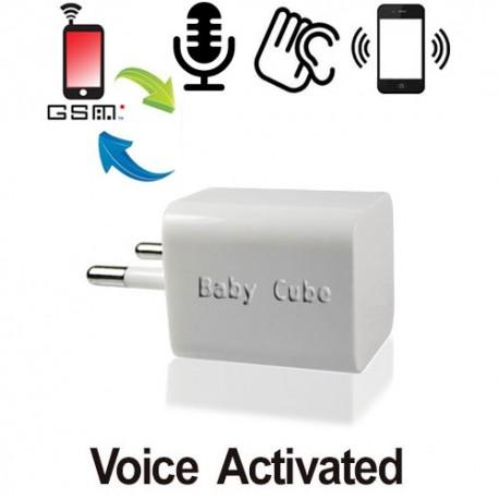 Mini GSM Fern-Abhörgerät- globale Raumüberwachung via Handy-Netz, weltweit !