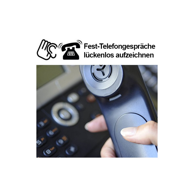 ... Festnetztelefon Mitschnittadapter Als Abhörgerät Fürs Telefon ...