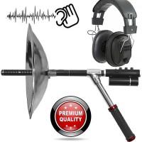 Hochprofessionelles Parabol-Richtmikrofon mit Hochleistungs-Verstärker