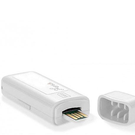 GPS Echtzeit-Ortung und Routenaufzeichnung in einem USB-Stick