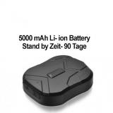 GPS-Peilsender, spritzwasser geschützt, mit starkem Magnet und 5000 mAh Power-Akku