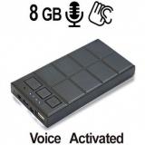 Digital-Voice Spionagerecorder getarnt in 5000 mAh Akkuspack (Powerbank), Voice-Activated