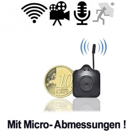 Kleinstes Color Funk-Kamerasystem der Welt mit USB-Stick Tuner inkl. Software für PC-basierte digitale Videoüberwachung